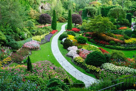 布查特花園 The Butchart Gardens